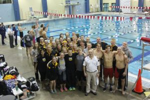 While the teams did not receive the placements they wanted, members of both Men's and Women's teams received several individual honors and broke several school and conference records