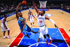 New Orleans Hornets v Philadelphia 76ers