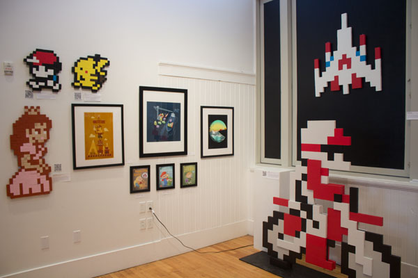 Danville Community Arts Center Showcases the Art of Video Games