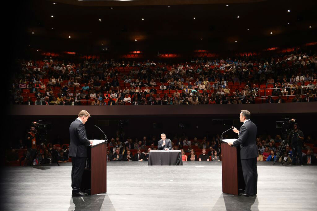 Conway and Bevin square off in Gubernatorial Debate