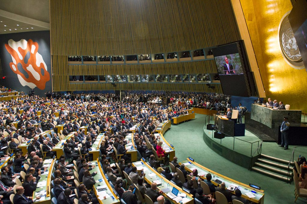 Seventieth United Nations General Assembly discusses Syrian refugees