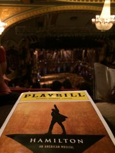 'Hamilton' at the Richard Rodgers Theatre. (Photo: Emily Morrell)