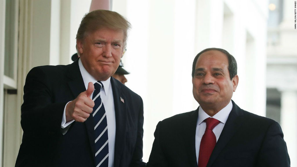 High Hopes or Hopelessness: Trump and el-Sisi's Budding Relationship