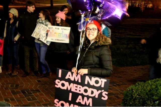 Centre College Women Host Women's March