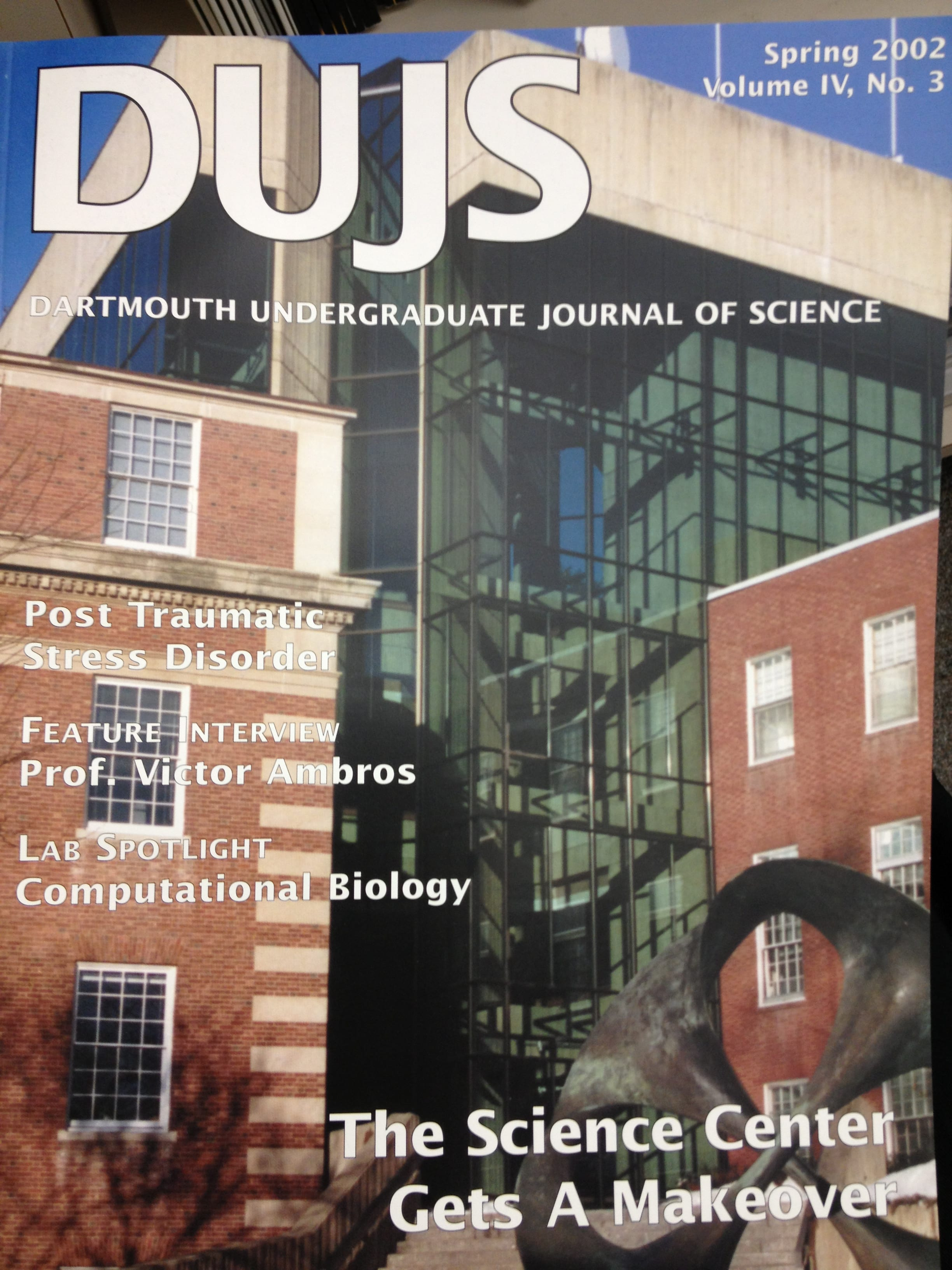 Spring 2002 Cover