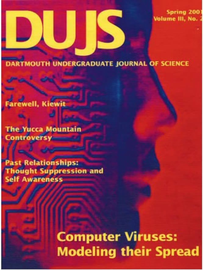 Spring 2001 Cover