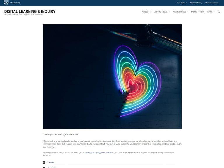 🔖 Creating Accessible Digital Materials
