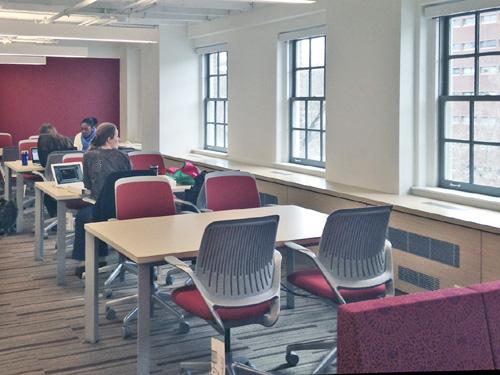 Open Study Area