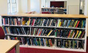 New Dana Book Shelves