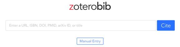 Zoterobib search box