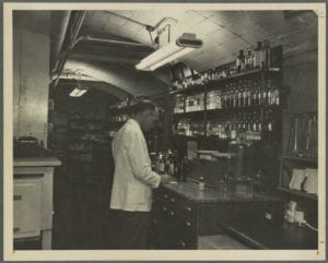 Mary Hitchcock Memorial Hospital: a man working in a pharmacy