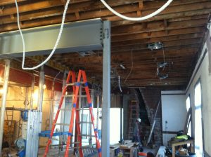 collis cafe renovation