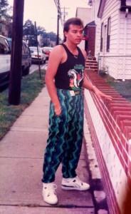 My dad in Westbury, N.Y. (1995)