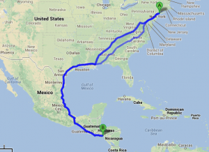 From San José to Westbury