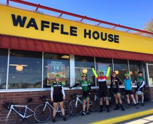 The Waffle House Century lived another year on the spring break trip