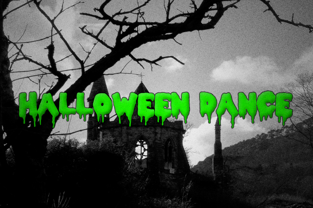 Halloween Dance banner