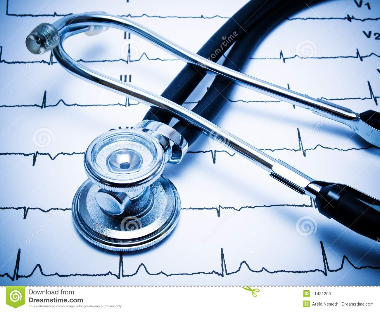 http://www.dreamstime.com/stock-photos-stethoscope-ecg-chart-image11431203
