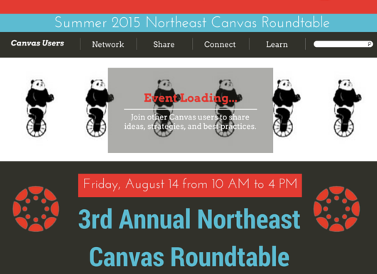 Canvas User Roundtable 2015