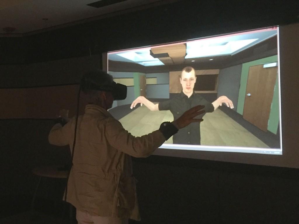 Image: VR simulation