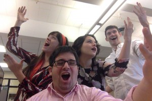 A picture of the OperaX social media and engagement team.