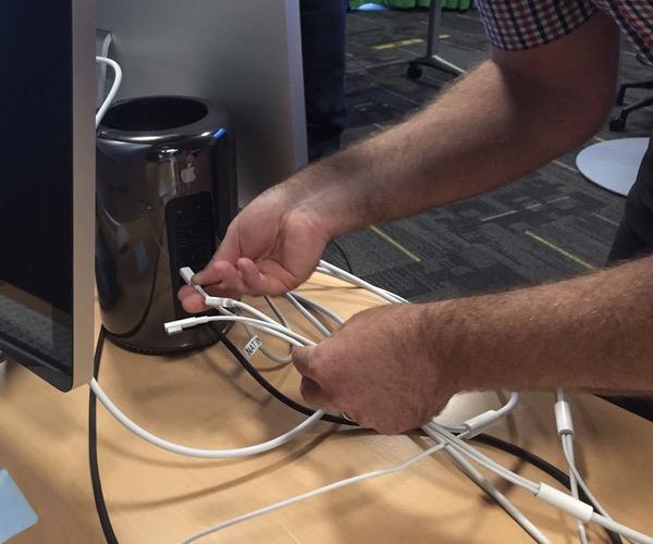 Thunderbolt into Mac Pro