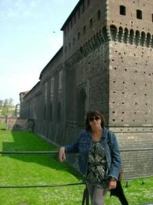 Alejandra in Italy  Spring 2009