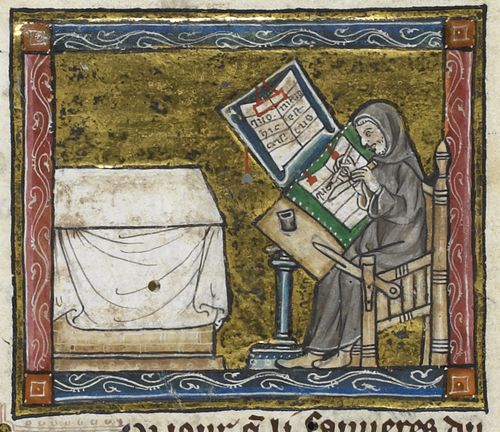 Image result for monastic scribe""