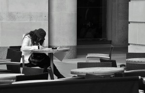 lonely student
