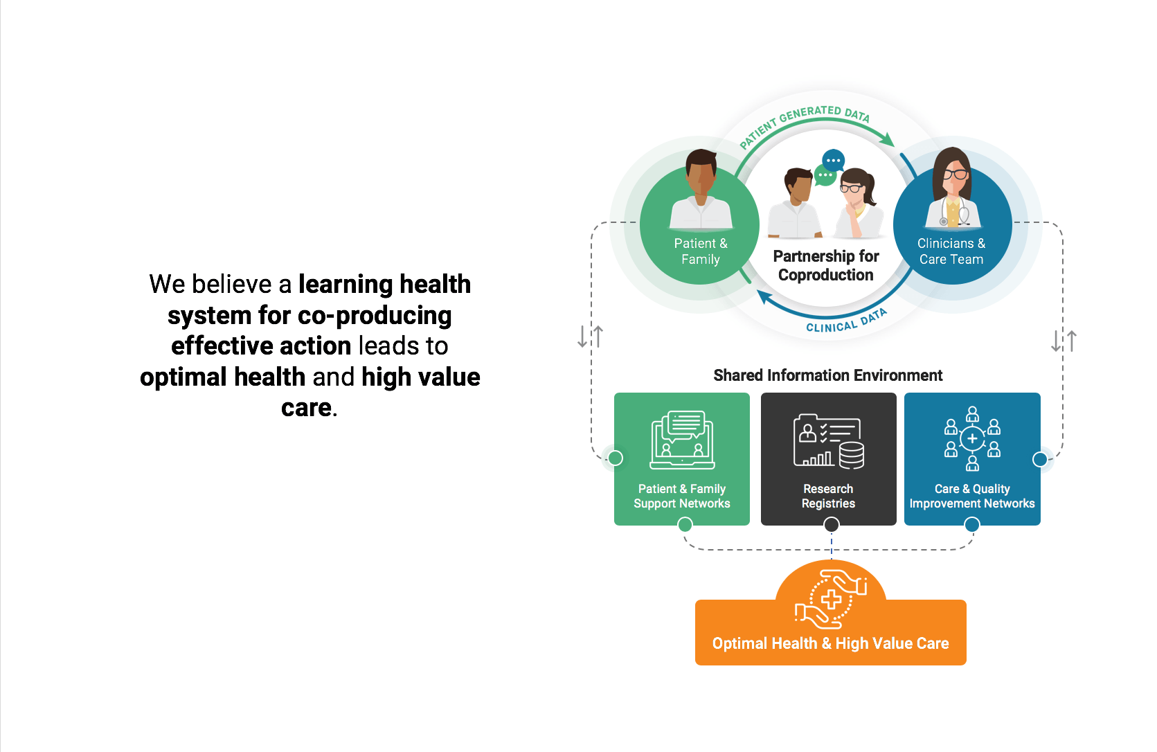 9. Learning health system