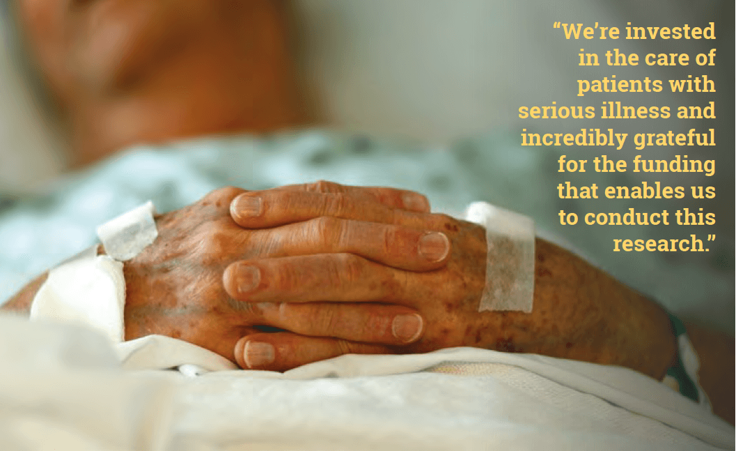 High-Quality Care for the Seriously Ill