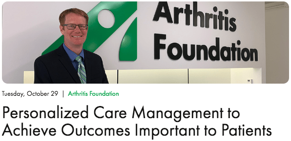 Arthritis Foundation Senior Vice President Speaks in Washington DC