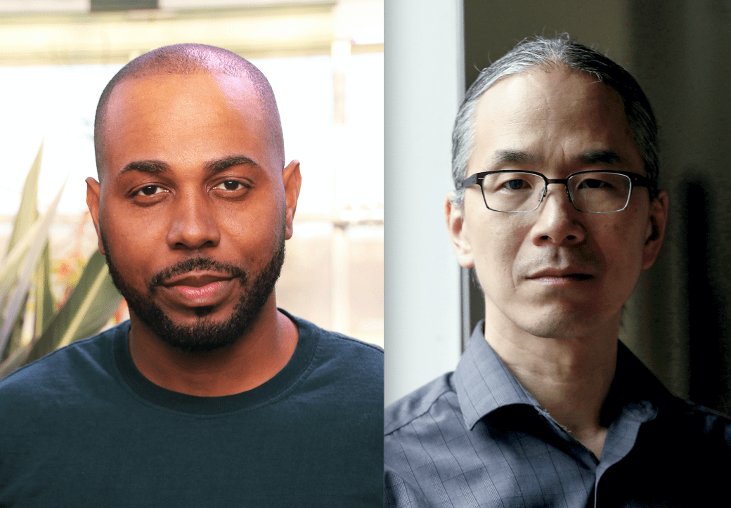 Cadwell Turnbull and Ted Chiang Headshots