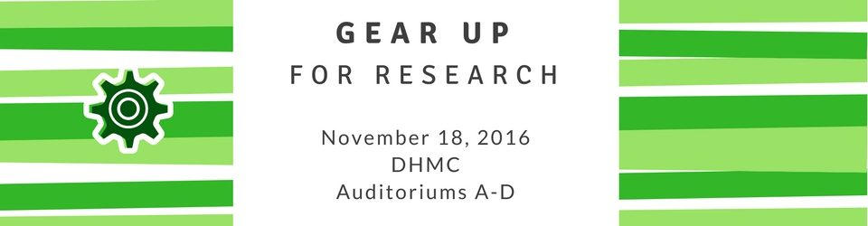 Gear Up for Research