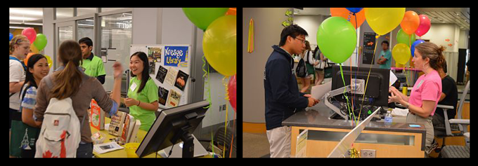 Library First-Year Open House 2013