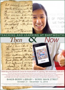Teaching and Learning at Dartmouth - Then & Now