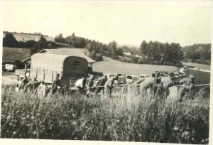 Setting remorques (trailers) on position prior to occupation