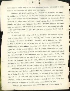 November 16 & 17, 1917