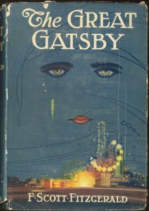 The Great Gatsby first edition in Rauner Library