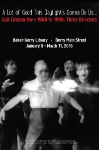Cult Film exhibit poster