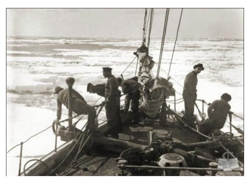 """""""Ice Floe"""" courtesy of Shackleton Endurance Photography"""