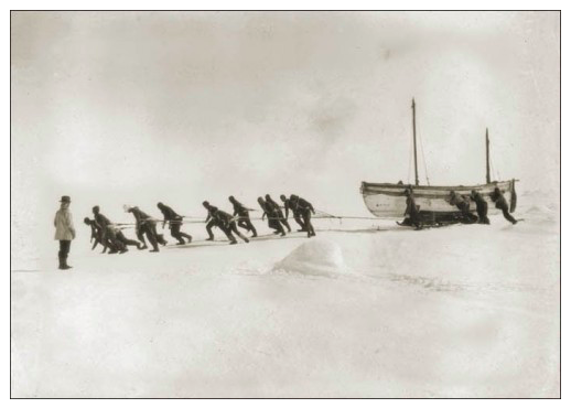 """""""The James Caird"""" - courtesy of Shackleton Endurance Photography"""