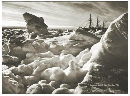 """Endurance in Weddell sea"" - courtesy of Shackleton Endurance Photography"