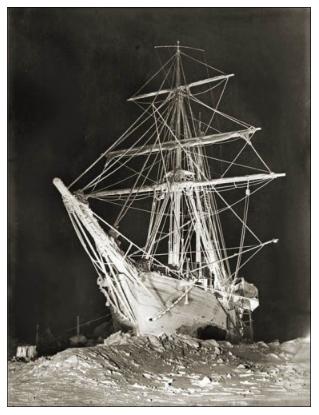 """""""The Night Ship"""" - courtesy of Shakcleton Endurance Photography"""