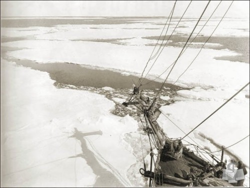 """Ice Floe"" - courtesy of Shackleton Endurance Photography"