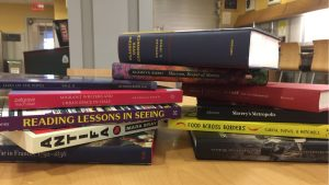 books by Dartmouth authors for the spring 2018 display