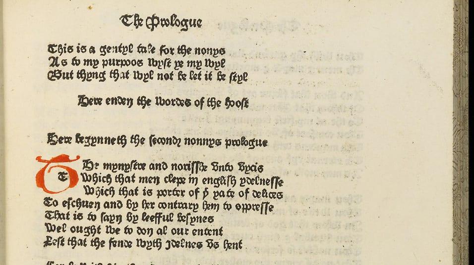 Canterbury Tales Nuns tale