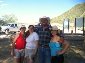 Mirtha and her three siblings in Colorado