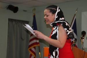 Lectura poética- Mujeres de Rojo en el Comisionado Dominicano de Cultura en los Estados Unidos.