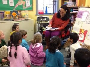 kianny- reading to kids