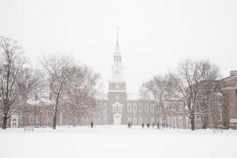 How To 'Winter' at Dartmouth